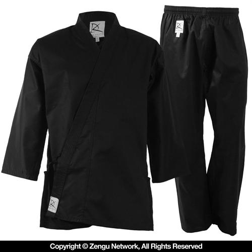 KD Elite Black Student Karate Uniform
